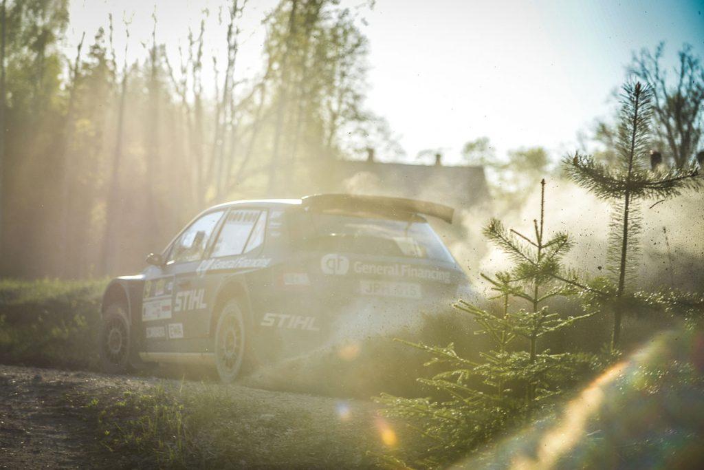 Benediktas Vanagas / Agnė Vičkačkaitė-Lauciuvienė, ŠKODA FABIA R5, General Financing team Pitlane. Rally Talsi – Rally of Champions 2017