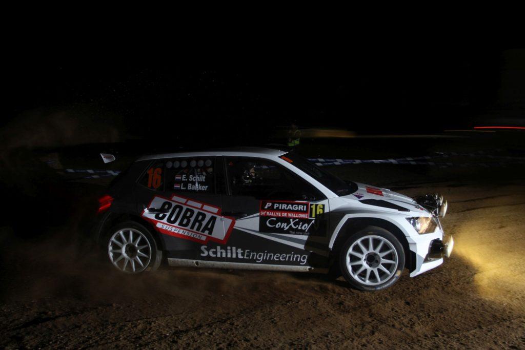 Edwin Schilt / Lisette Bakker, ŠKODA FABIA R5, Wevers Sport. Rallye de Wallonie 2017 (Foto: BRC Media)