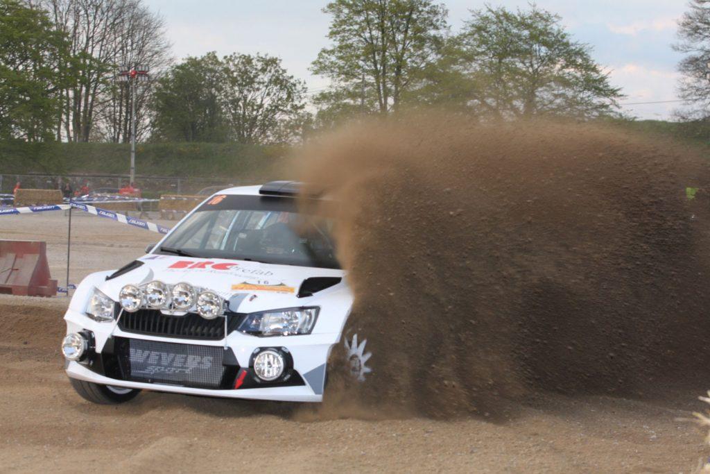 Edwin Schilt / Lisette Bakker, ŠKODA FABIA R5, Wevers Sport. Rallye de Wallonie 2017 (Photo: BRC Media)