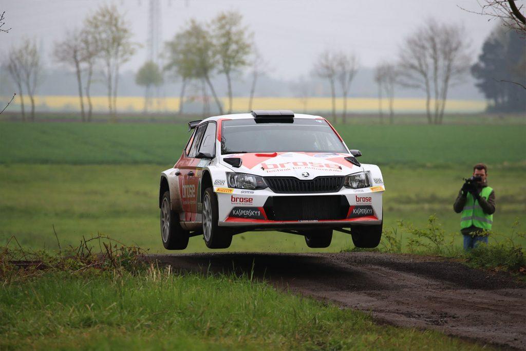 Dominik Dinkel / Christina Kohl, ŠKODA FABIA R5, Brose Motorsport. Rallye Sulingen 2017