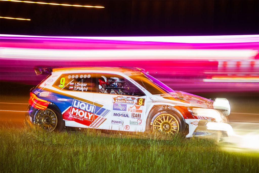Igor Drotár / Tomáš Plachý, ŠKODA FABIA R5, Drotár Autošport. Rallye Tatry 2017