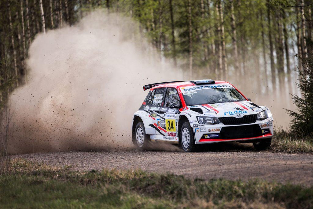 Teemu Asunmaa / Jonne Halttunen, ŠKODA FABIA R5, Hannu's Rally Team. Riihimäki-Ralli 2017