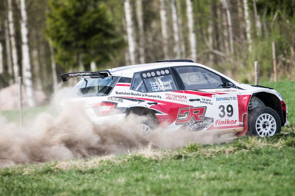 Marko Mänty / Joni Mäkelä, ŠKODA FABIA R5, Printsport Oy. Riihimäki-Ralli 2017