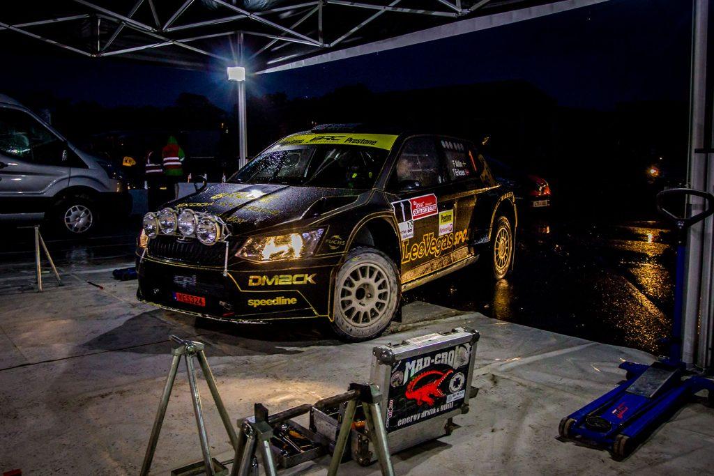 Fredrik Åhlin / Torstein Eriksen, ŠKODA FABIA R5, CA1 Sport. Scottish Rally 2017