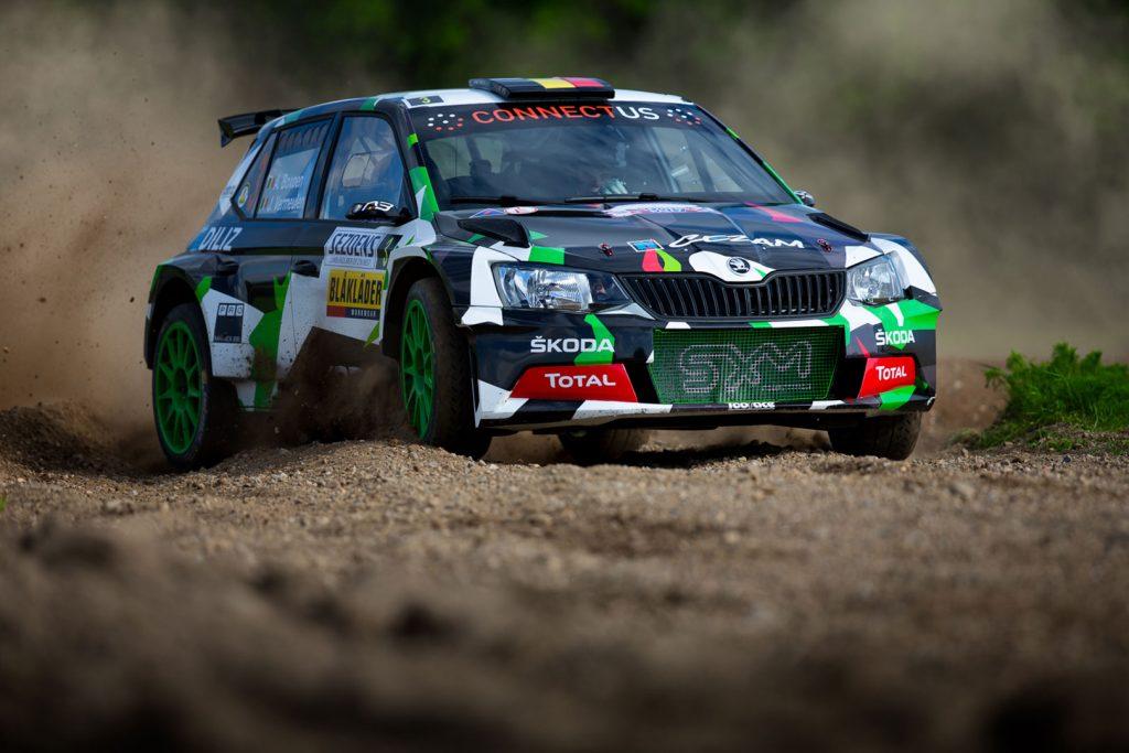 Achiel Boxoen / Jasper Vermeulen, ŠKODA FABIA R5, SXM Competition. Sezoens Rally 2017