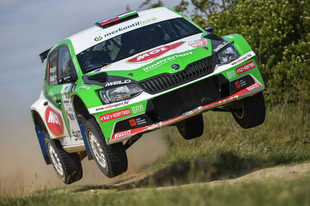 Norbert Herczig / Igor Bacigál, ŠKODA FABIA R5, Škoda Rally Team Hungaria. Szombathely Rallye 2017