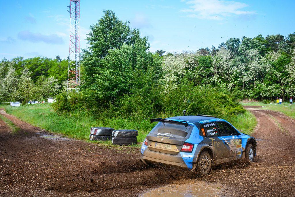 József Trencsényi / Gábor Verba, ŠKODA FABIA R5, Extrém Sport Team. Szombathely Rallye 2017