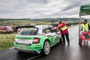 Dan Girtofan / Tudor Marza, ŠKODA FABIA R5, CS Prorally Team BV. Transilvania Rally 2017