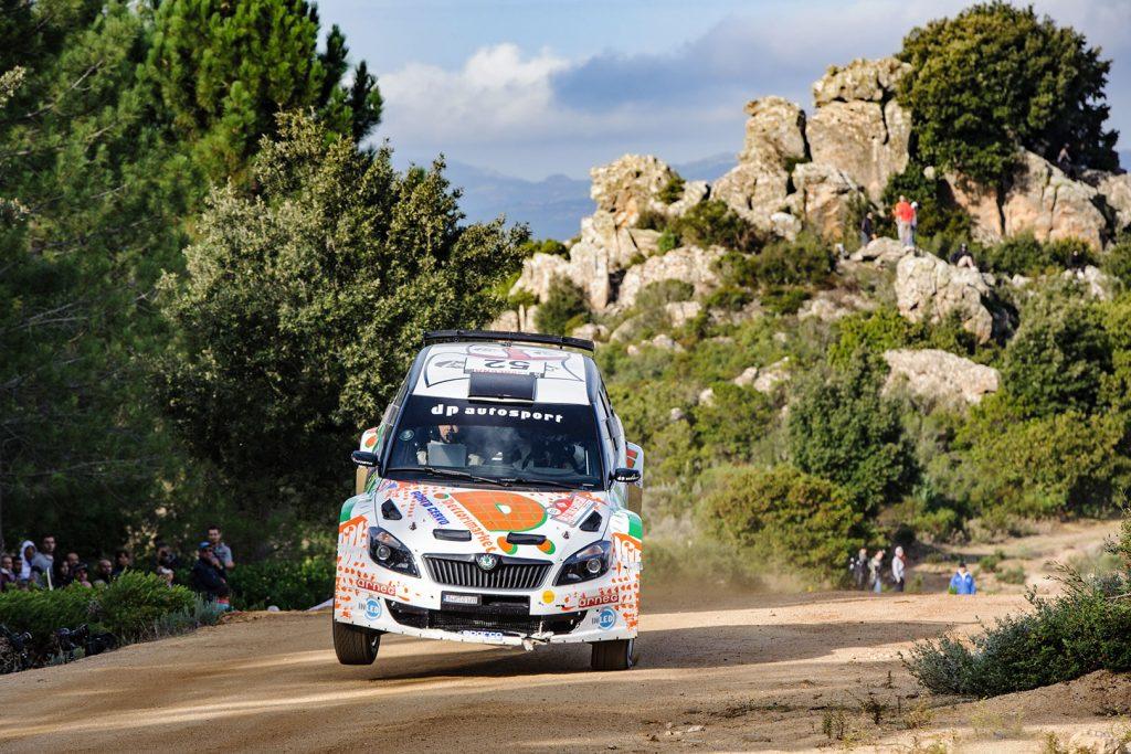Giuseppe Dettori / Carlo Pisano, ŠKODA FABIA S2000. Rally Italia Sardegna 2012