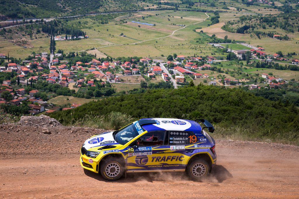 Socratis Tsolakidis / Harris Dimos, ŠKODA FABIA R5, Socratis Tsolakidis. Acropolis Rally 2017
