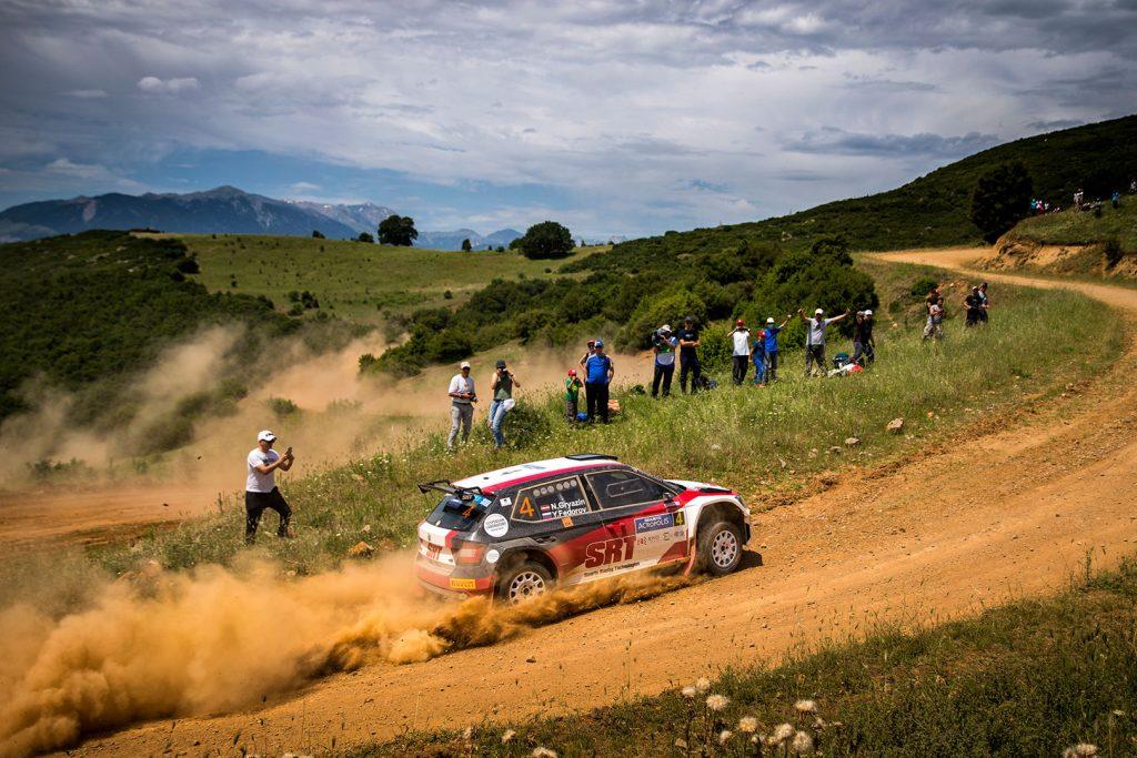 Nikolay Gryazin / Yaroslav Fedorov, ŠKODA FABIA R5, Sports Racing Technologies. Acropolis Rally 2017