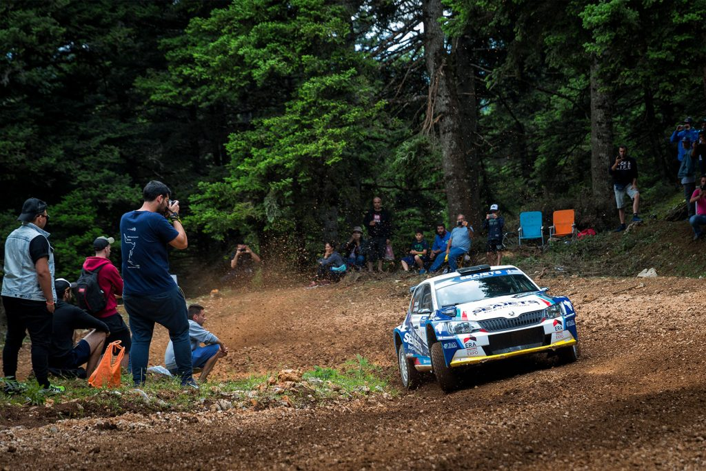Bruno Magalhães / Hugo Magalhães, ŠKODA FABIA R5, Bruno Magalhães. Acropolis Rally 2017