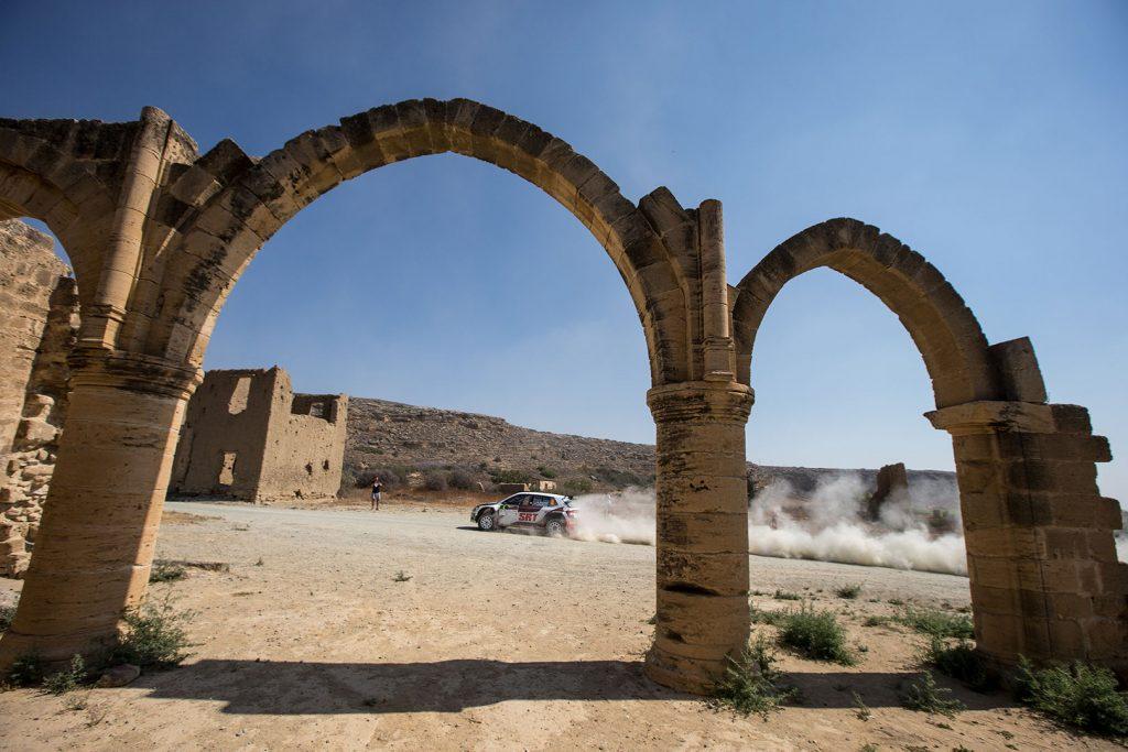 Nikolay Gryazin / Yaroslav Fedorov, ŠKODA FABIA R5, Sports Racing Technologies. Cyprus Rally 2017