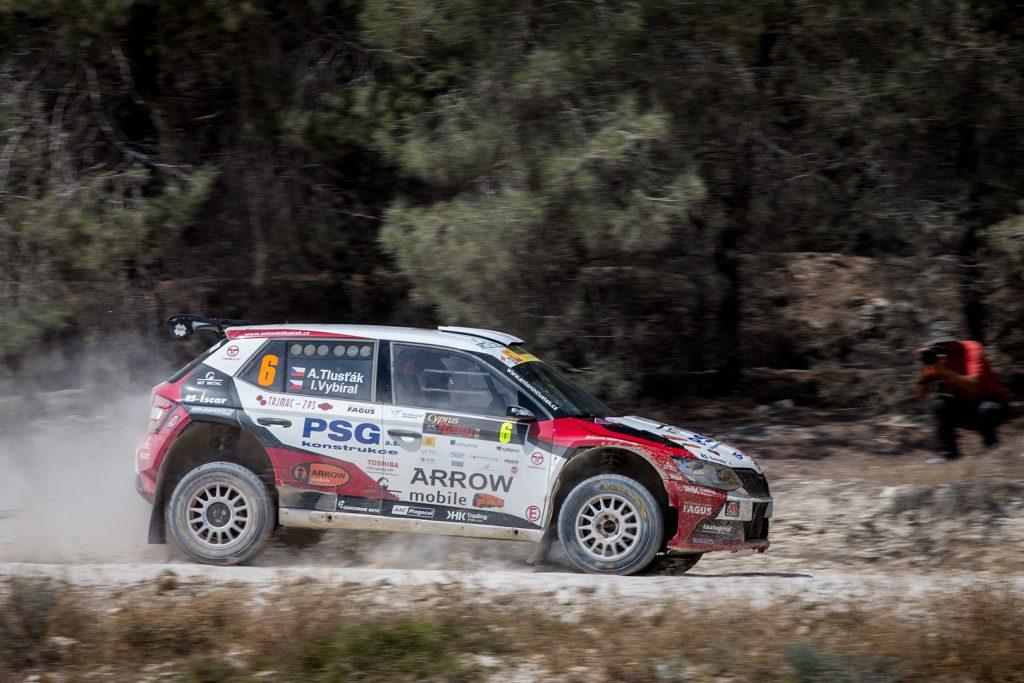 Antonín Tlusťák / Ivo Vybíral, ŠKODA FABIA R5, Botka – Tlustak Racing. Cyprus Rally 2017