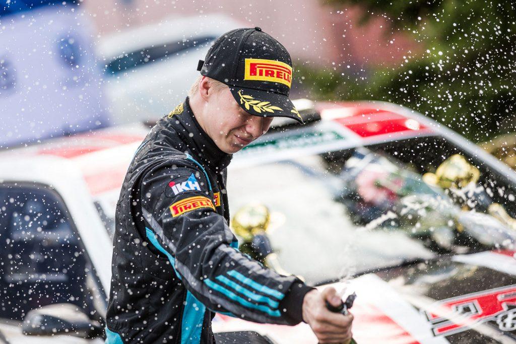 Kalle Rovanperä / Risto Pietiläinen, ŠKODA FABIA R5, TGS Worldwide OU. O.K. Auto-Ralli 2017