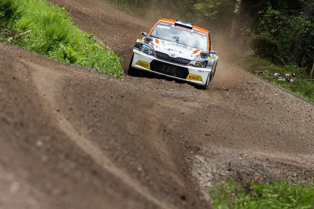 Juuso Nordgren / Mikael Korhonen, ŠKODA FABIA R5, TGS Worldwide OU. O.K. Auto-Ralli 2017
