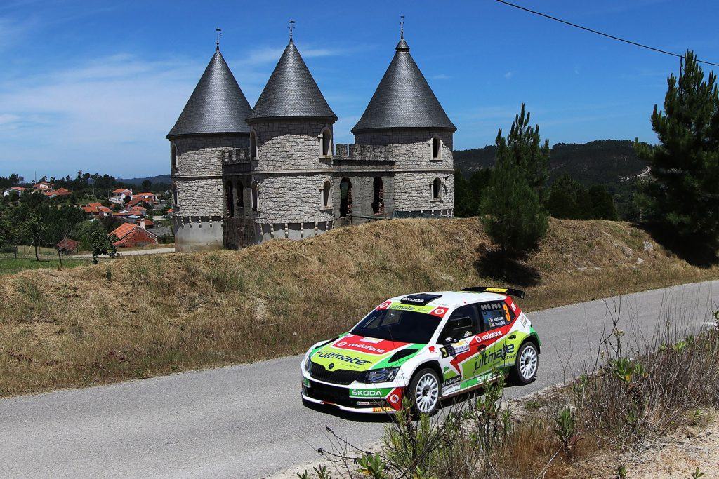 Miguel Barbosa / Miguel Ramalho, ŠKODA FABIA R5, BP Ultimate Vodafone Škoda Team. Rali Vidreiro - Centro de Portugal 2017