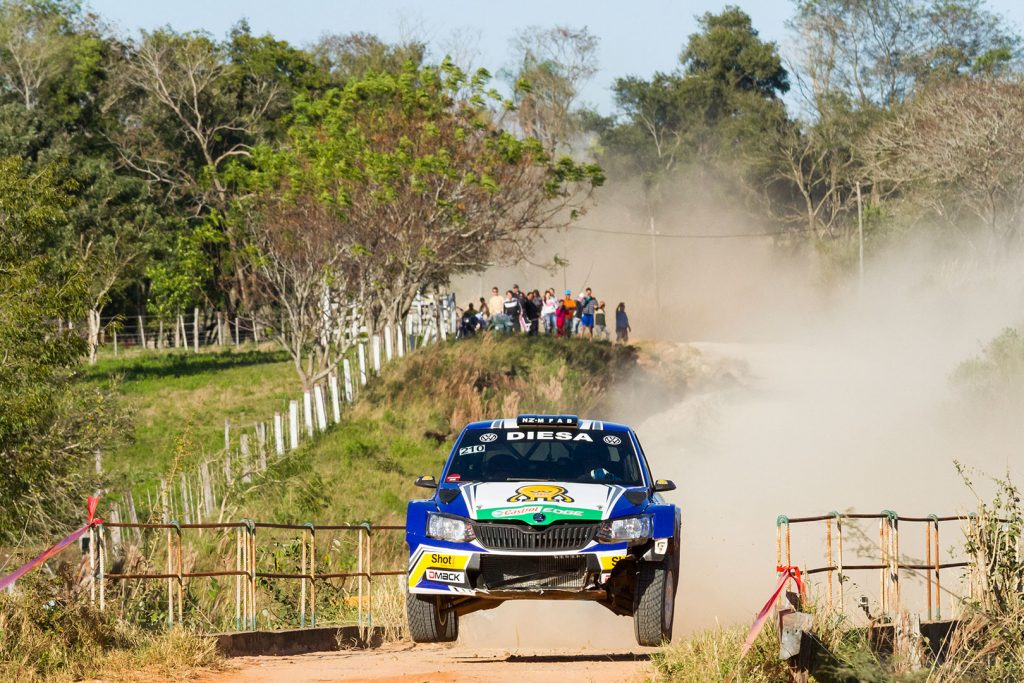 Miguel 'Miki' Zaldivar / Edgardo Galindo, ŠKODA FABIA R5. Rally de la Republica 2017