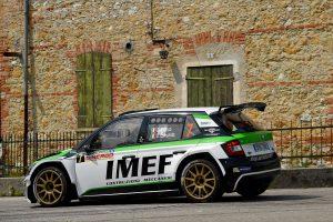 Efrem Bianco / Dino Lamonato, ŠKODA FABIA R5, DP Autosport. Rally della Marca Trevigiana 2017 (Photo: ACIsport)