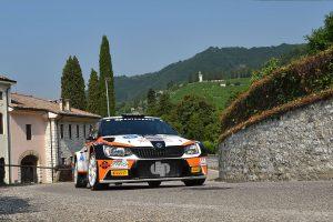 Ilario Bondioni / Elia Ungaro, ŠKODA FABIA R5, DP Autosport. Rally della Marca Trevigiana 2017 (Photo: ACIsport)