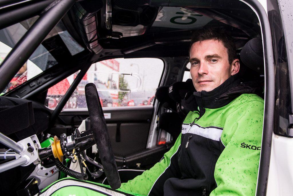 Jan Kopecký, ŠKODA FABIA R5, ŠKODA Motorsport. Rally Hustopeče 2017