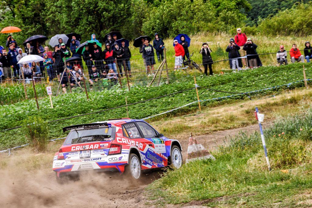 Grzegorz Grzyb / Jakub Wróbel, ŠKODA FABIA R5, Rufa Sport. Rally Hustopeče 2017
