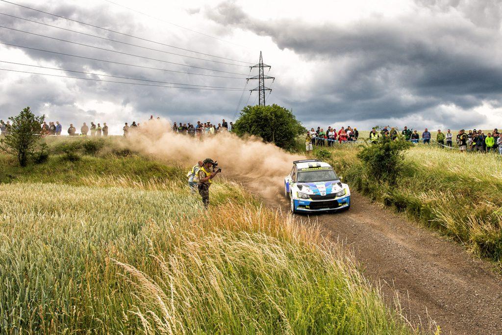 Karel Trojan jun. / Petr Chlup, ŠKODA FABIA R5, Korno Motorsport. Rally Hustopeče 2017