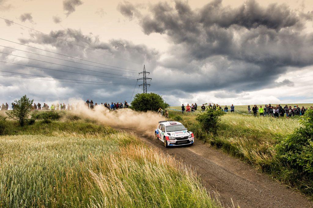 Igor Drotár / Tomáš Plachý, ŠKODA FABIA R5, Drotár Autošport. Rally Hustopeče 2017