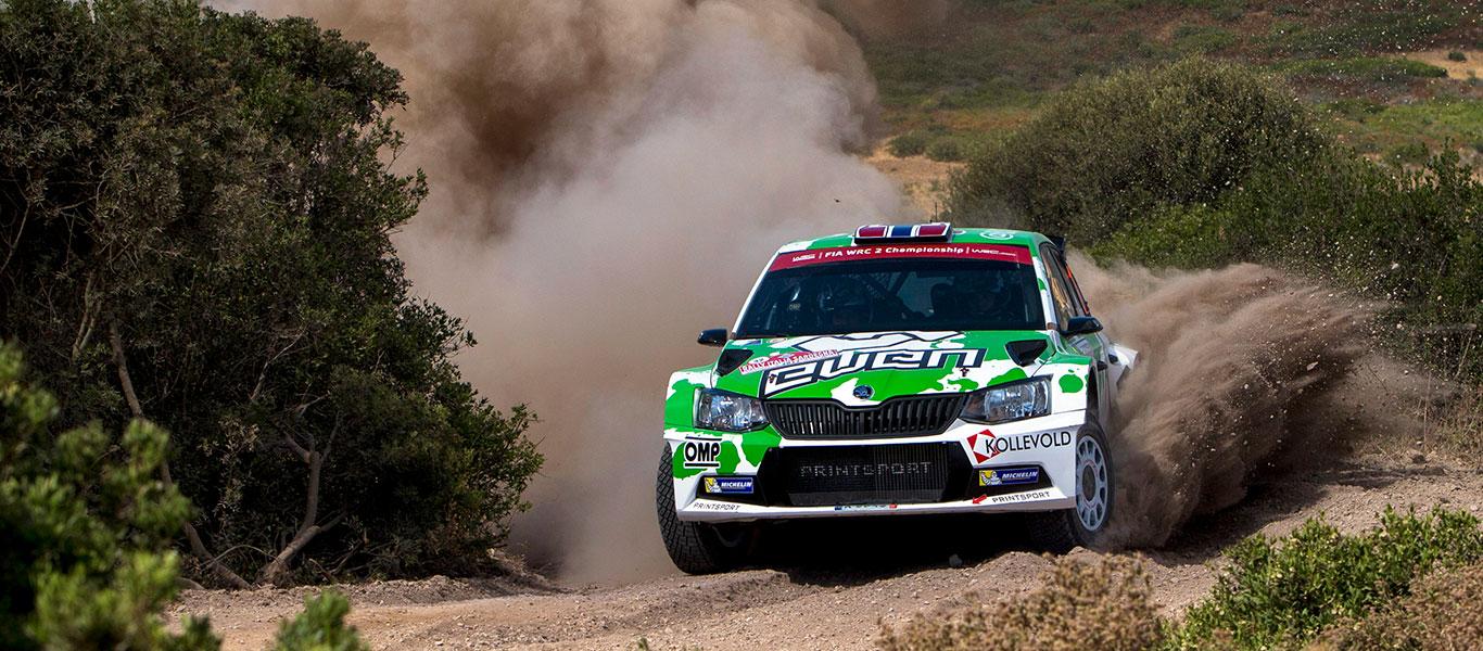 WRC Polsko: Veiby a Guerra v čele skupiny zákaznických týmů ŠKODA