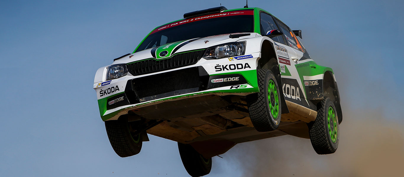 PHOTO: ŠKODA Motorsport at the Rally Italia Sardegna 2017