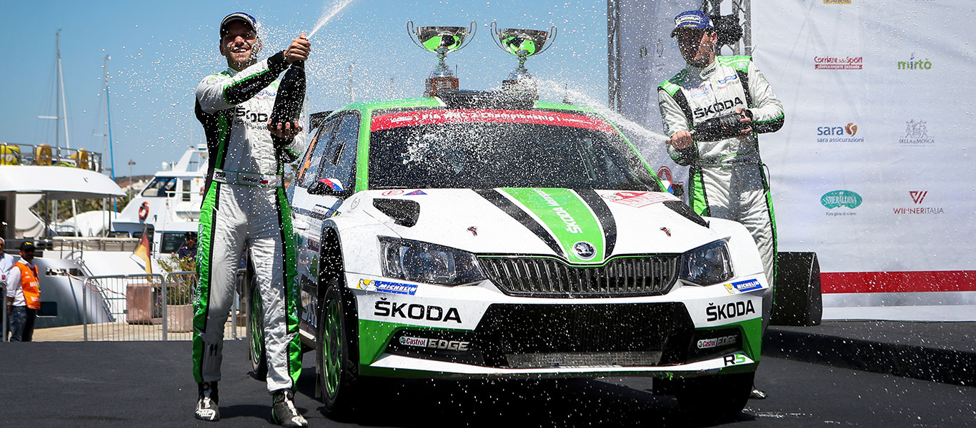 WRC Italy: Kopecký / Dresler secured their first WRC2 win of the season
