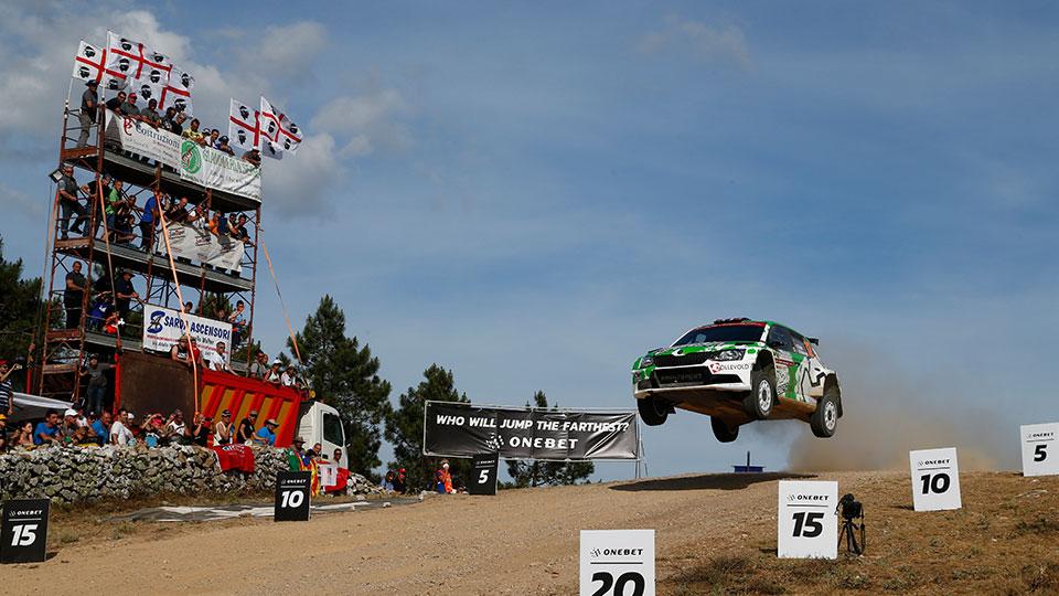 Rally Italia Sardegna 2017 – 2. etapa