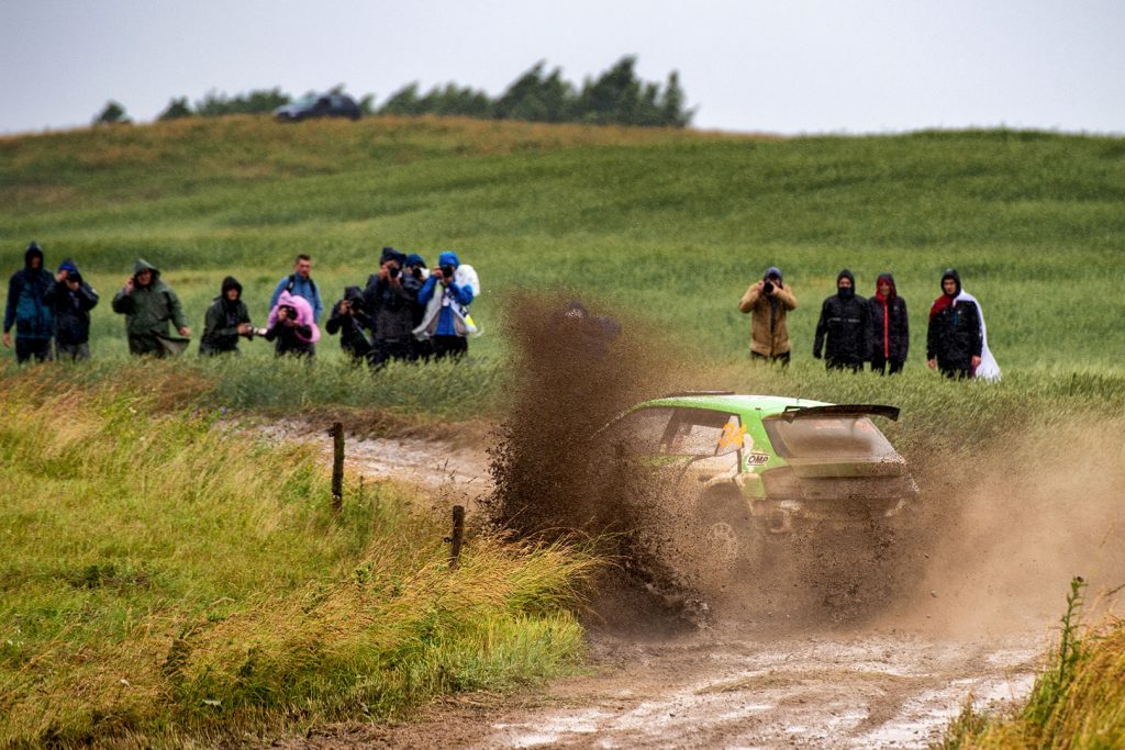 Ole Christian Veiby / Stig Rune Skjærmoen, ŠKODA FABIA R5, Printsport Oy. Rally Poland 2017