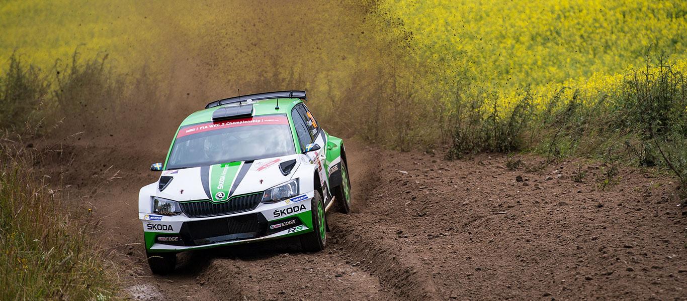 FOTO: ŠKODA Motorsport na Polské rally 2017
