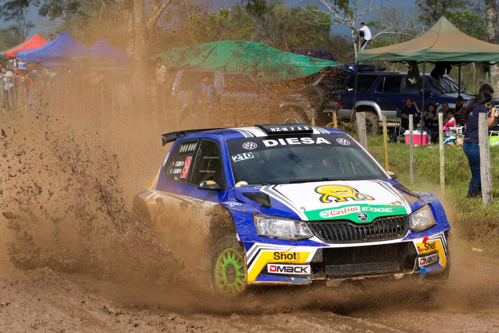 Miguel 'Miki' Zaldivar / Edgardo Galindo, ŠKODA FABIA R5, Miguel Zaldivar Sr. Rally Santani 2017
