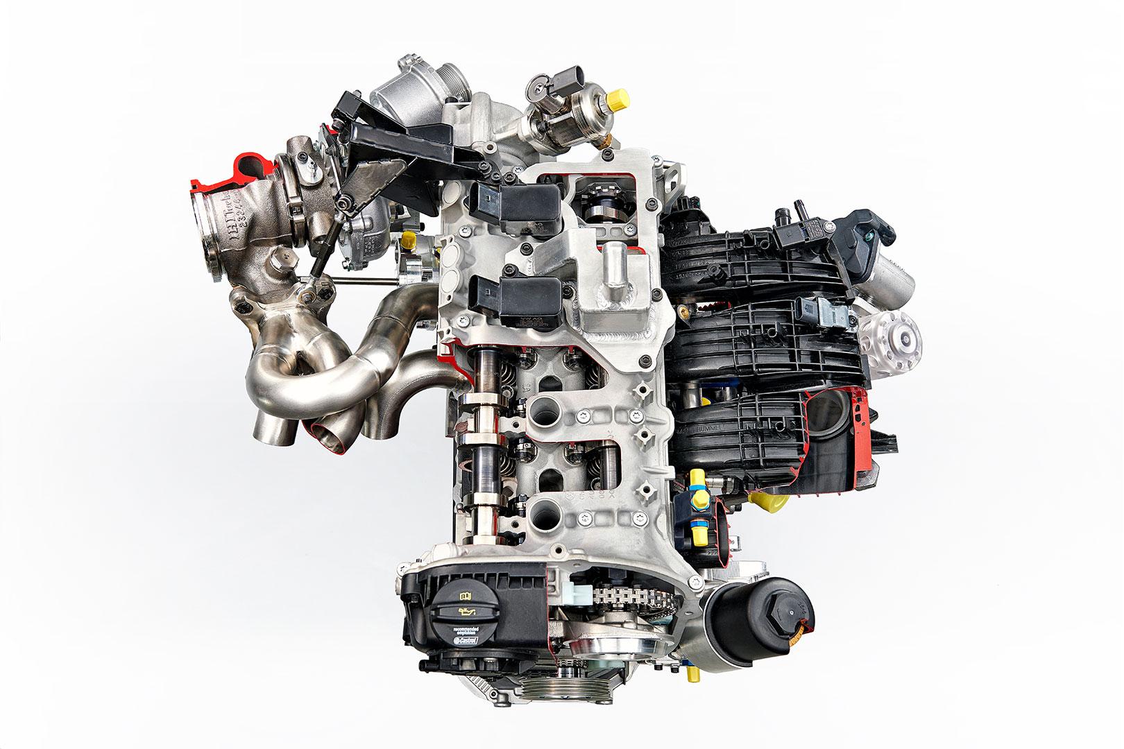 ŠKODA FABIA R5 - Motor