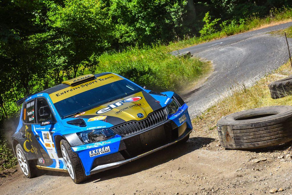 József Trencsényi / Gábor Verba, ŠKODA FABIA R5, Extrém Sport Team. Székesfehérvár Rallye 2017
