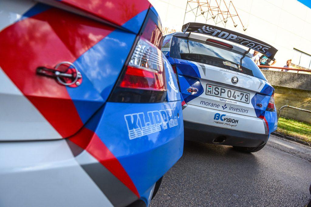 Péter Ranga / Tamás Szöke, ŠKODA FABIA R5, Ranga Rally Team. Székesfehérvár Rallye 2017