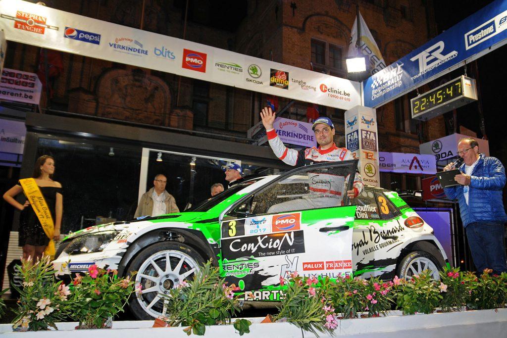 Bryan Bouffier / Gilbert Dini, ŠKODA FABIA R5, Bryan Bouffier. Ypres Rally 2017