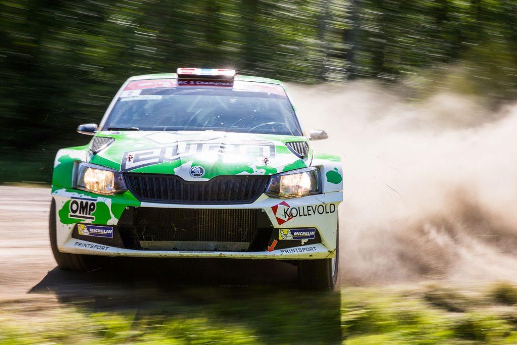 Ole Christian Veiby / Stig Rune Skjærmoen, ŠKODA FABIA R5, Printsport Oy. AutoGlym Ralli 2017