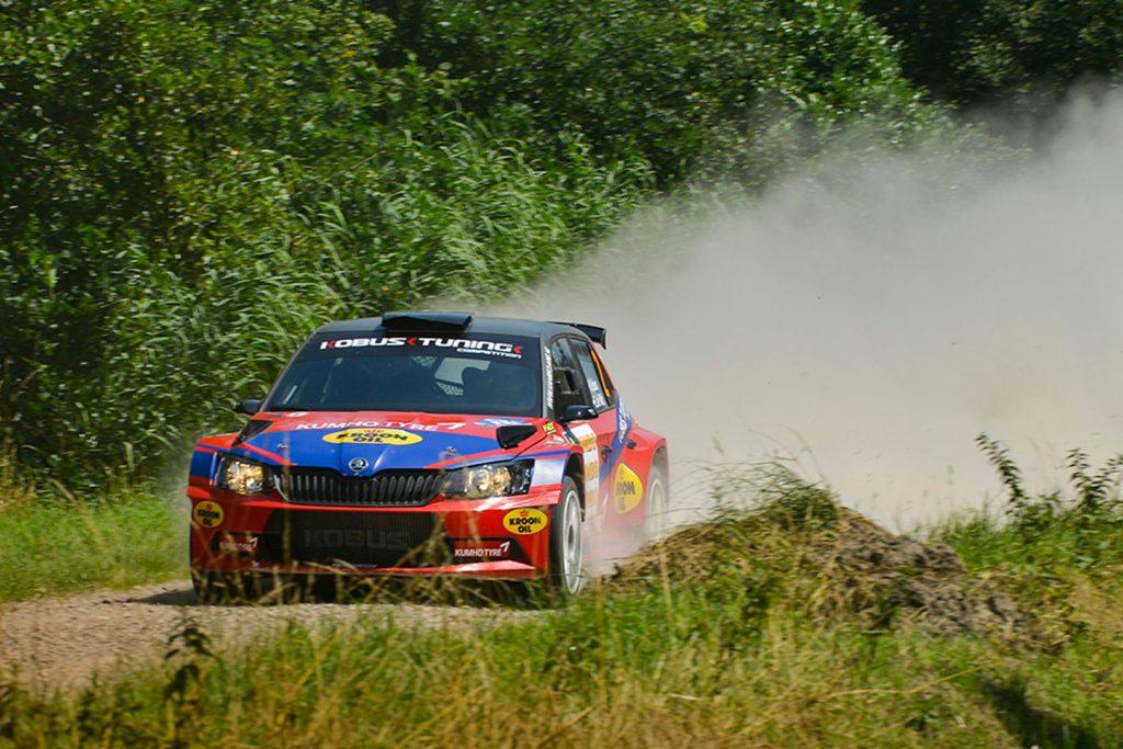 Hermen Kobus / Erik de Wild, ŠKODA FABIA R5. GTC Rally 2017