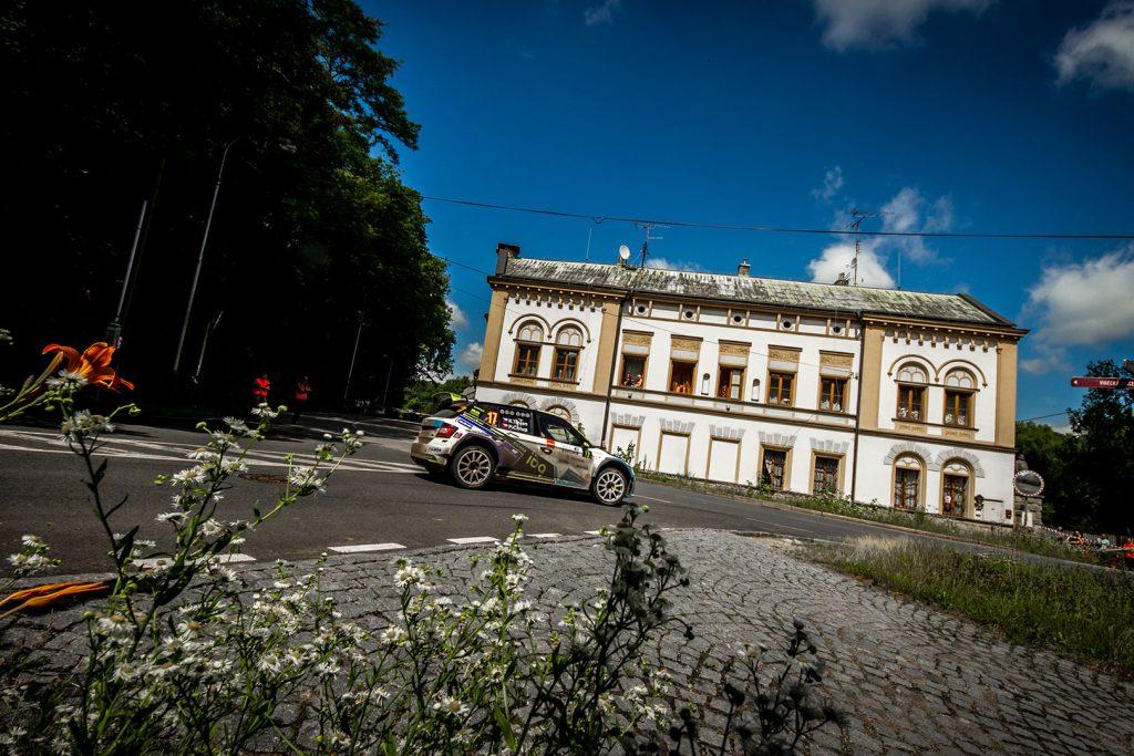Karel Trojan jun. / Petr Chlup, ŠKODA FABIA R5, Korno Motorsport. Rally Bohemia 2017