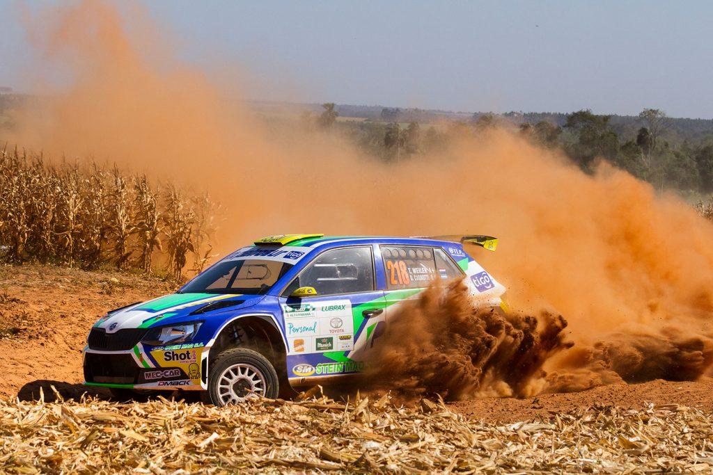 Thiago Weiler / Diego Cagnotti, ŠKODA FABIA R5. Rally de Alto Paraná 2017