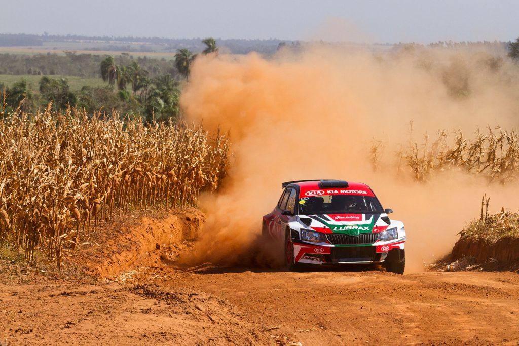 Didier Arias / Hector Nunes, ŠKODA FABIA R5. Rally de Alto Paraná 2017