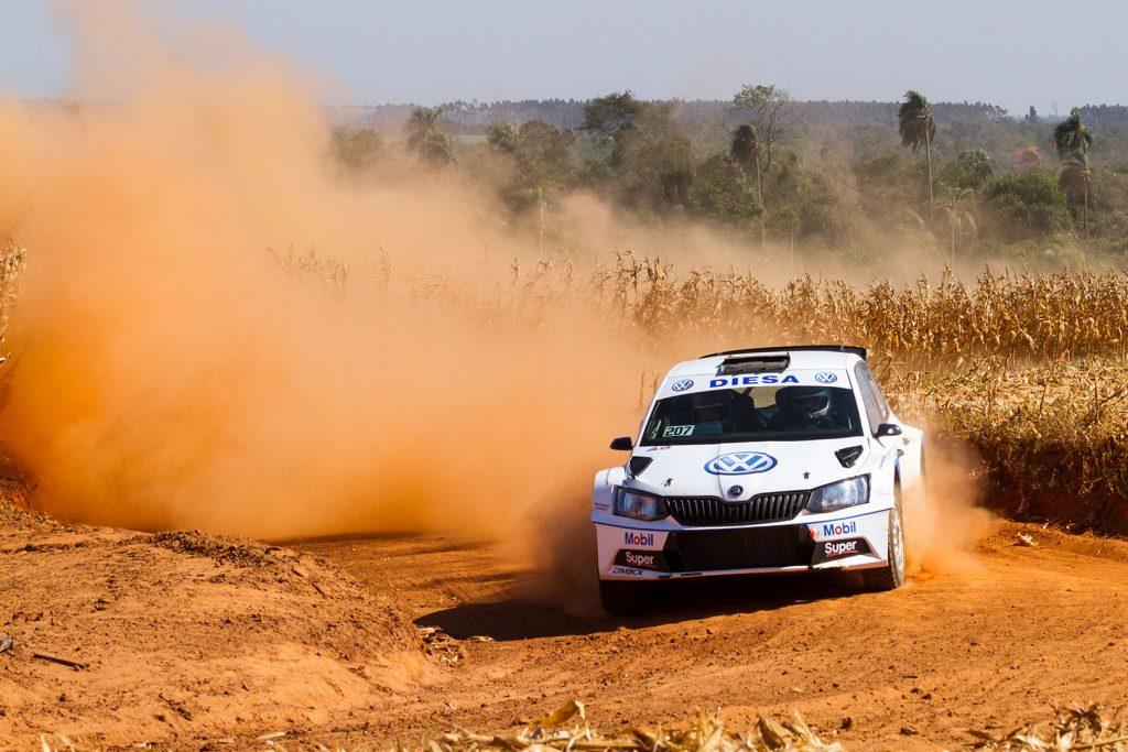 Pedro Fadul / Hans Thiede, ŠKODA FABIA R5. Rally de Alto Paraná 2017
