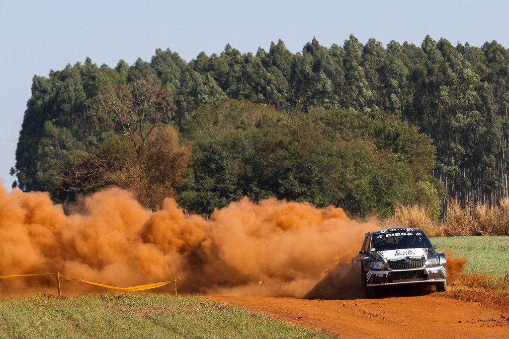 "Miguel ""Miki"" Zaldivar / Edgardo Galindo, ŠKODA FABIA R5. Rally de Alto Paraná 2017"