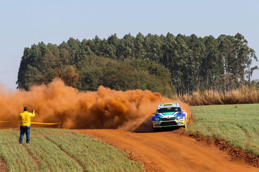 Tiago Weiler / Diego Cagnotti, ŠKODA FABIA R5. Rally de Alto Paraná 2017
