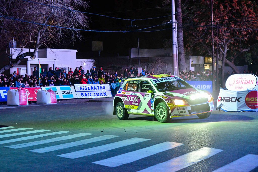 Gustavo Saba / Fernando Mussano, ŠKODA FABIA R5, Gustavo Saba. Rally de San Juan 2017