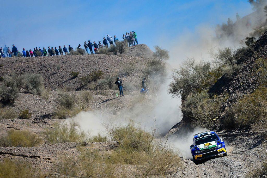Miguel 'Miki' Zaldivar / Edgardo Galindo, ŠKODA FABIA R5. Rally de San Juan 2017