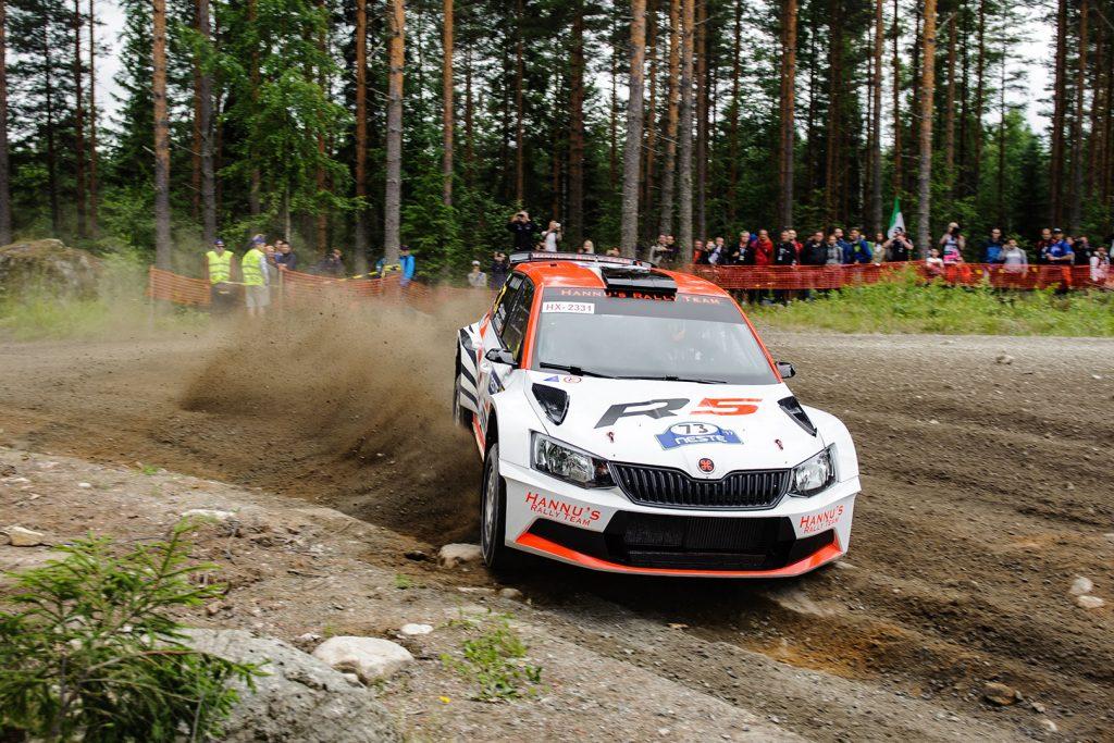 Mikko Lehessaari / Reeta Hämäläinen, ŠKODA FABIA R5, Hannu's Rally Team. Rally Finland 2017